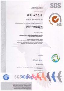 IATF 16949 2016 1 212x300 - CERTIFICATION & TESTING